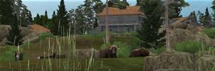 Ecoventure Tundra Trek Panoroma by IbenTesara