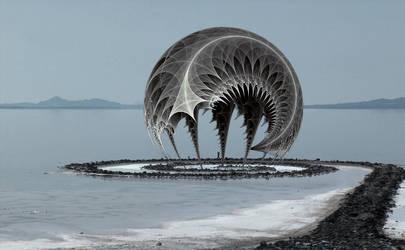 fractal pavilion