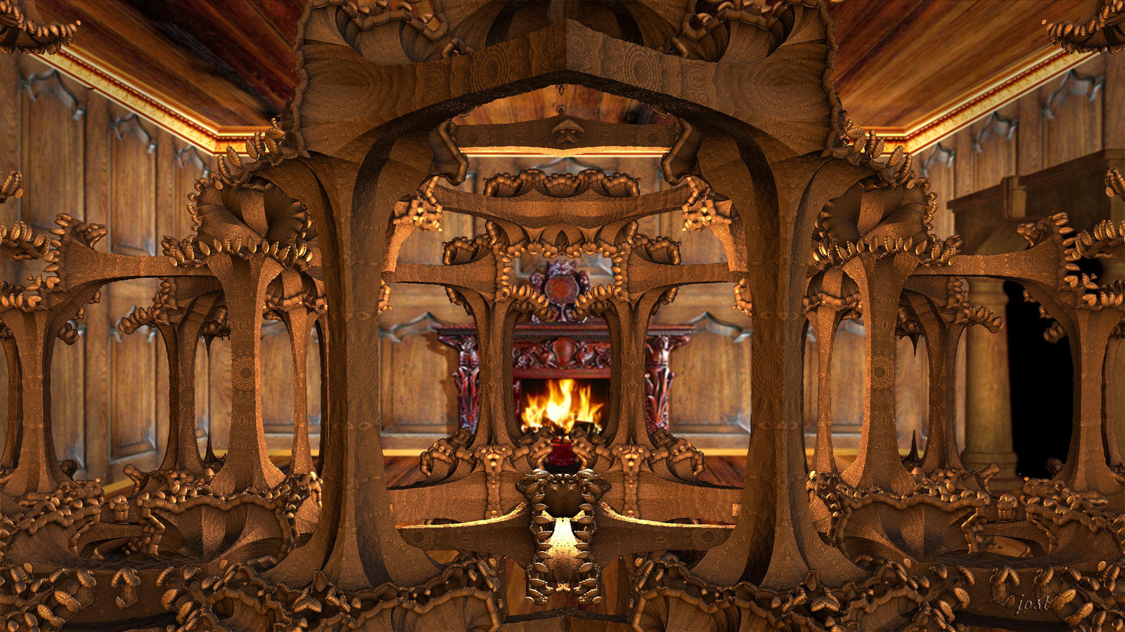 ancient interior by jost1