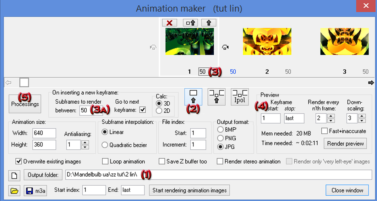 Short MB3D Animation Tutorial 1 by jost1