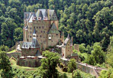 Eltz Castle by jost1