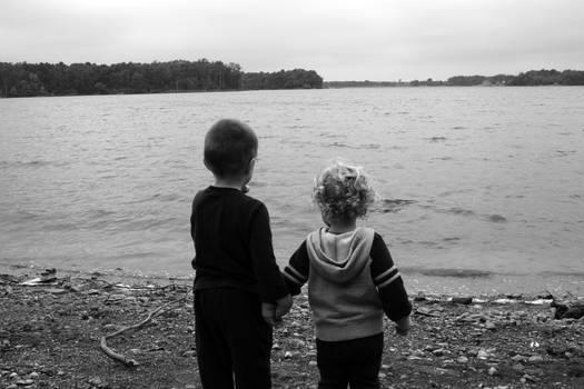 Walk by the lake