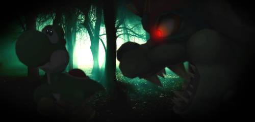 Dark forest by koshechkazlatovlaska