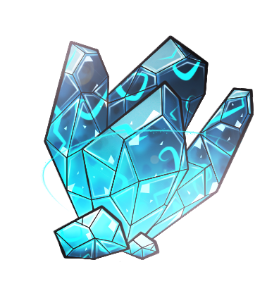 Blue crystal meteor by koshechkazlatovlaska on DeviantArt