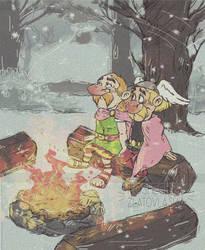 Snowing by koshechkazlatovlaska