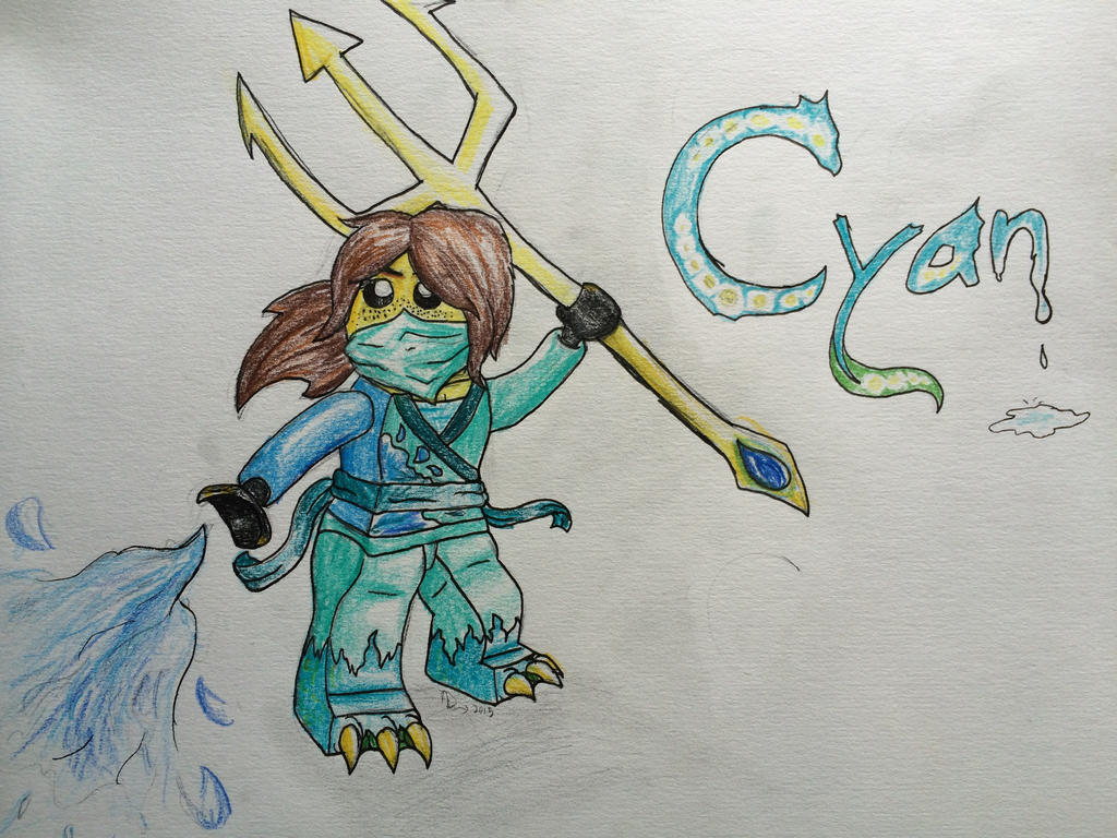 Cyan ninja of water and dragons by spasdragonstudios on deviantart cyan ninja of water and dragons by spasdragonstudios ccuart Gallery