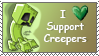 Creeper stamp by SnapDragonStudios