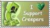 Creeper stamp by SnapDragonStudios