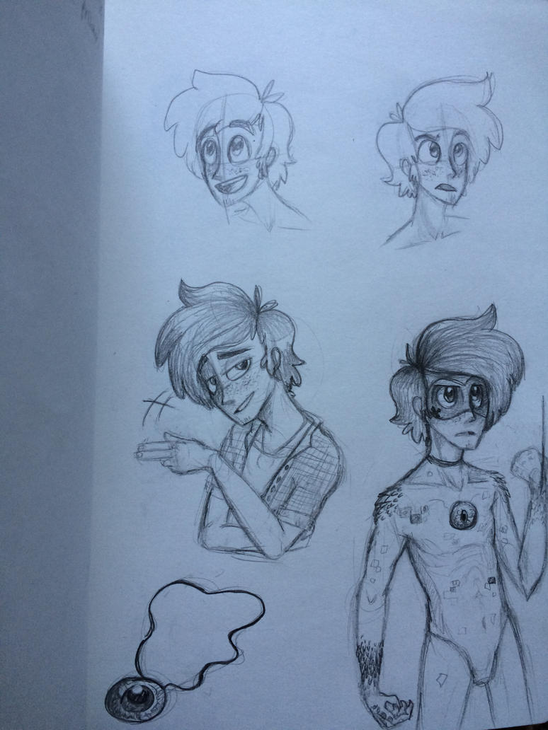 More human Daniel doodles by SpasDragonStudios