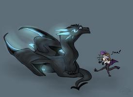 Two dragons x3 by SpasDragonStudios
