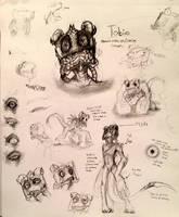Tobias redesign concepts by SpasDragonStudios