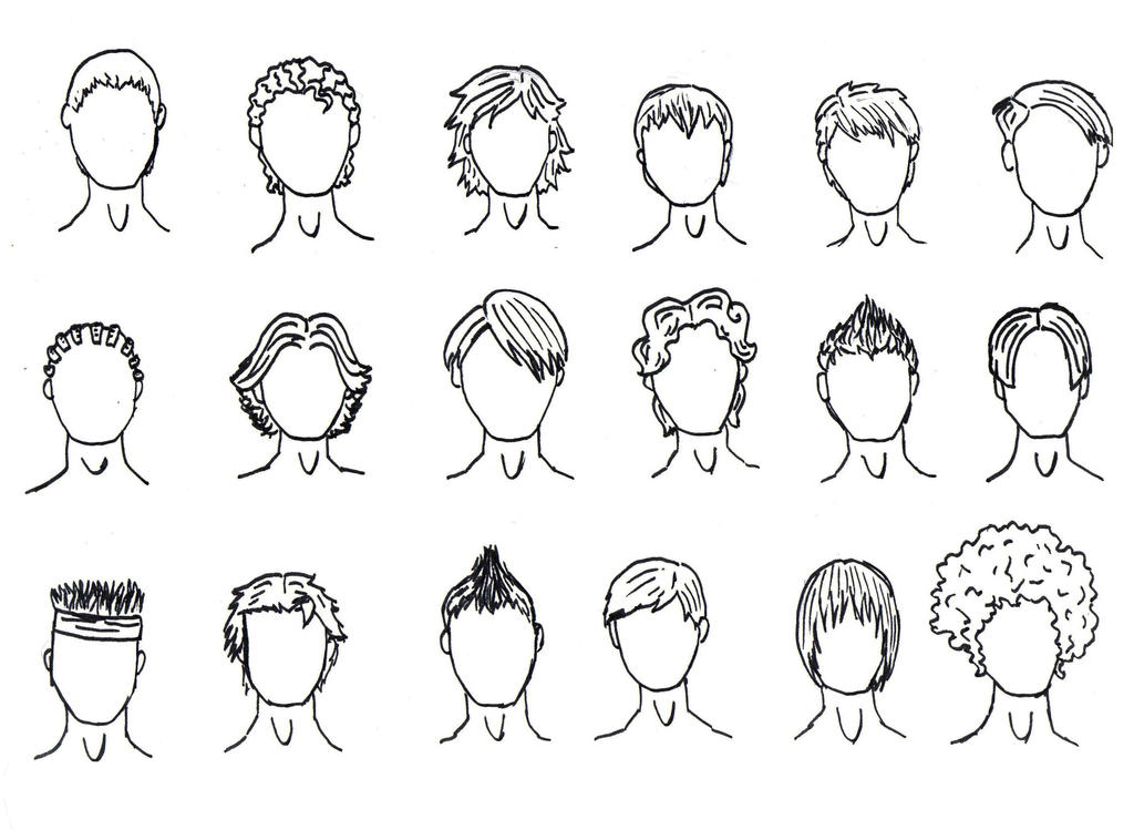New Boy Haircut By PoiPoi On DeviantArt - Hairstyle boy drawing