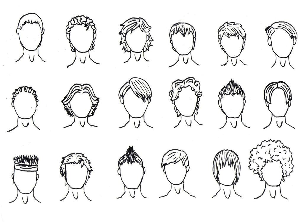 Boy Haircuts Drawing : New boy haircut by poipoi on deviantart