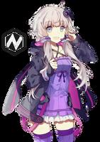 #render16 Yuzuki Yukari (Vocaloid) by GeCore