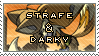 Strafe and Darky by DarkenedFantasies