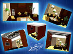 Office Waiting room - MMD stage DL
