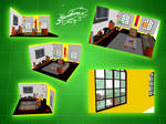 Vibrant Lounge - MMD stage DL