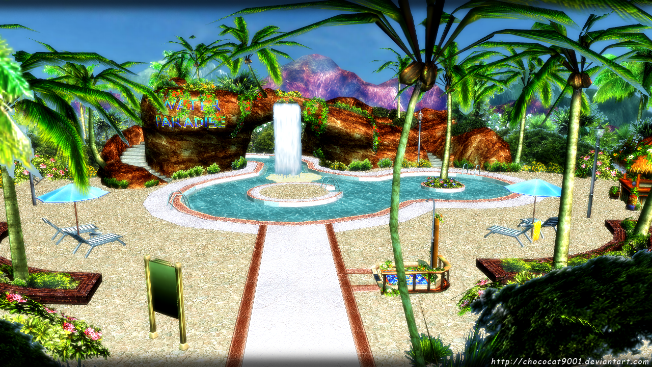 mmd stage beach download