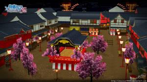 Hachi-hachi hana no kassen_ MMD stage DL