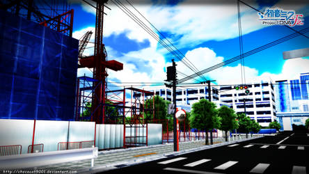 Kagerou Days_ MMD stage DL by DiemDo-Shiruhane