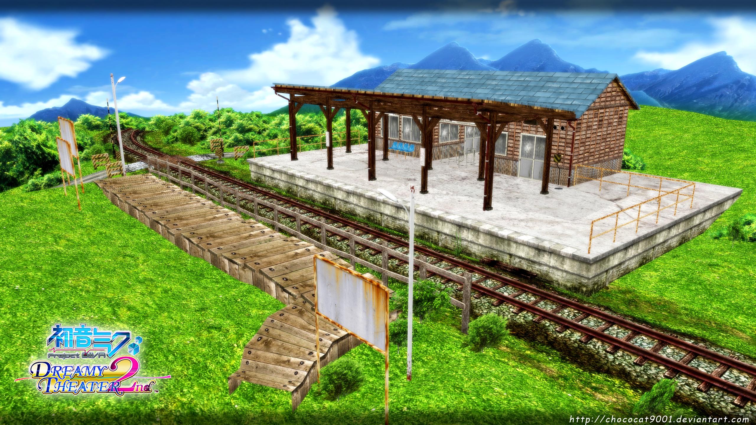 DEAR _ MMD stage DL by DiemDo-Shiruhane