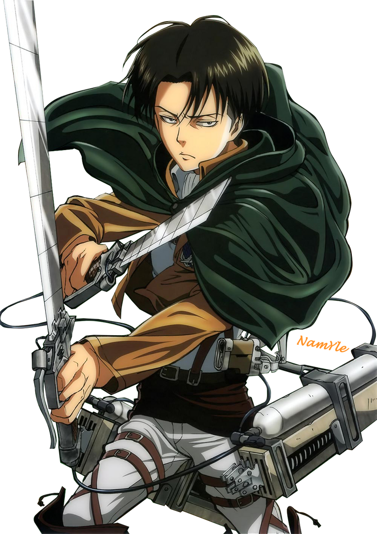 Levi Ackerman (Render) by Namyle on DeviantArt