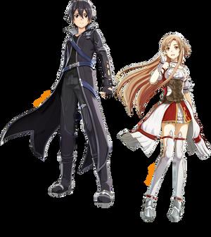 Kirito and Asuna (Render #2)