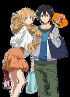 Kirito and Asuna (Render #3) by Namyle