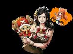 Nico Robin (Render #4) by Namyle