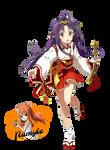 Yuuki Konno (Render #1) by Namyle