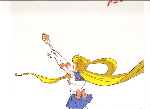 Sailor Moon Attacks Cel