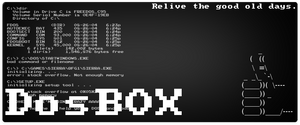 Free Software Banner: DosBOX