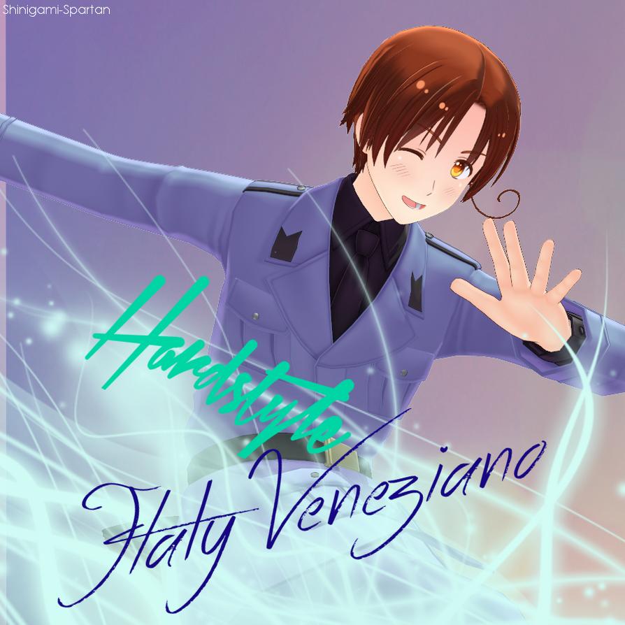 Hardstyle: Feliciano Vargas by Shinigami-Spartan