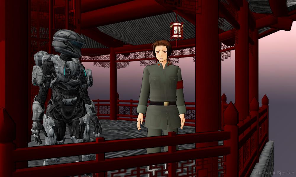 Sarah Palmer and Yao Wang by Shinigami-Spartan