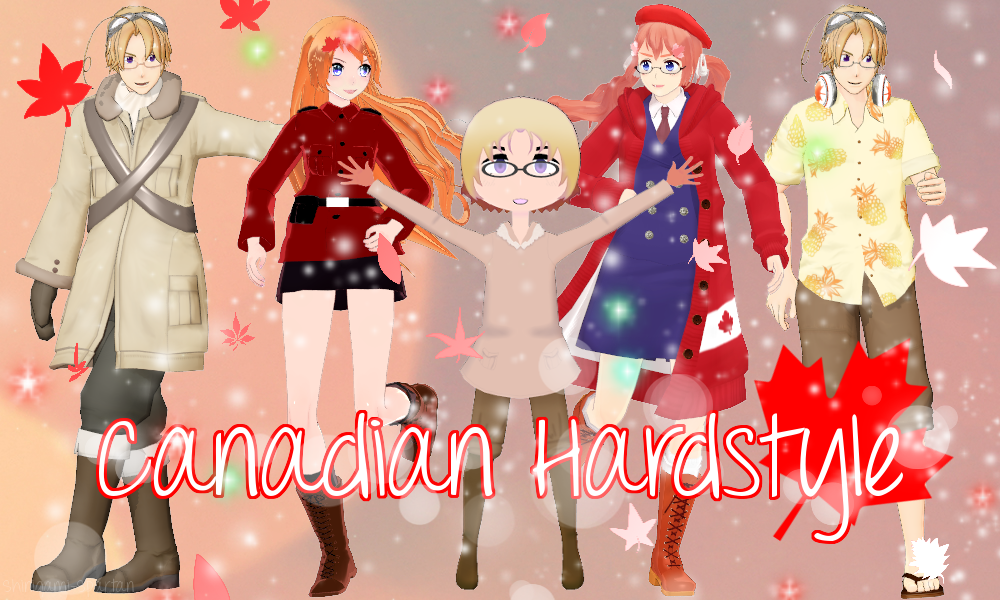 Canadian Hardstyle by Shinigami-Spartan