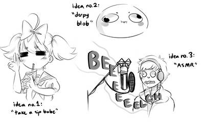 out of context doodles