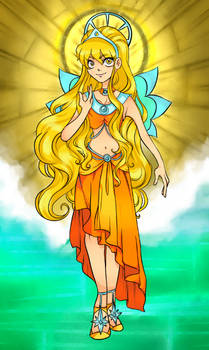 The Fairy of the Sun and Moon
