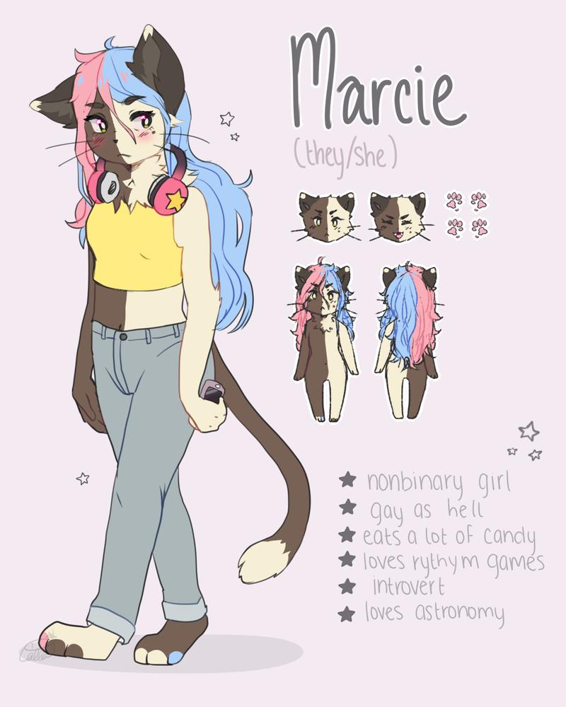 Marcie Ref by twinnleaf