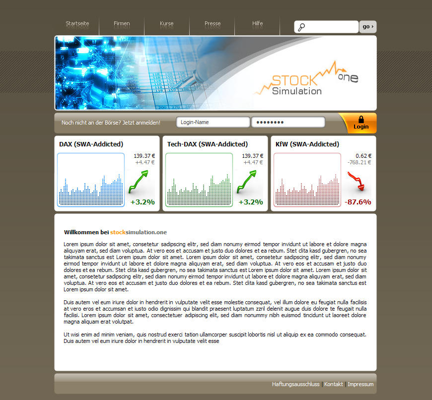 Stock.Simulation One