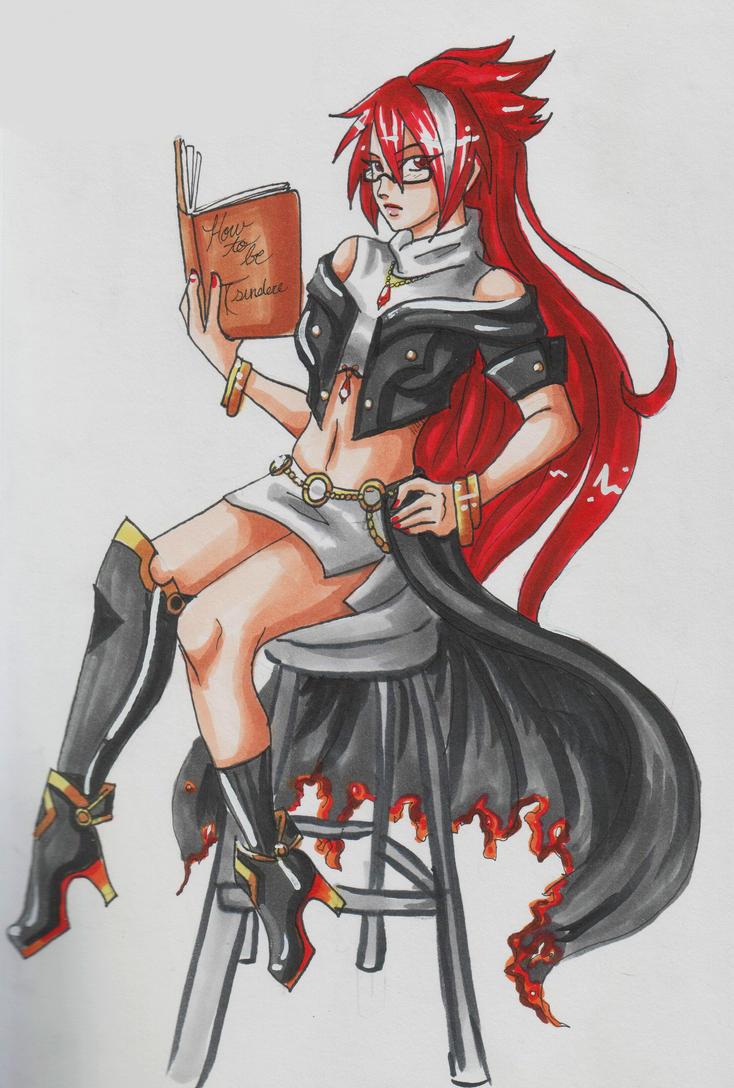 Elfriede by 0ki