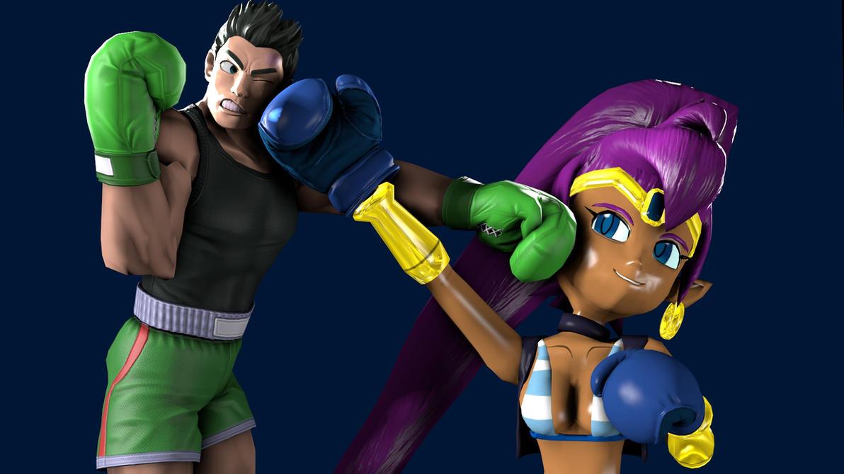 MDTWVI- Oponent one= Shantae by anotherpunisher