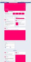 Free PSD new facebook fanpage GUI