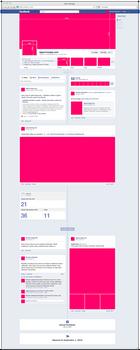 Free PSD new facebook fanpage GUI by misz000