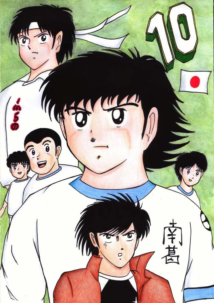 Captain Tsubasa Charaktere