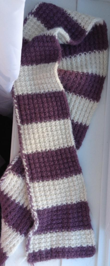 Knitted Scarf Patterns Alpaca Yarn : Simple Knitted Alpaca Scarf by Demelaa on deviantART