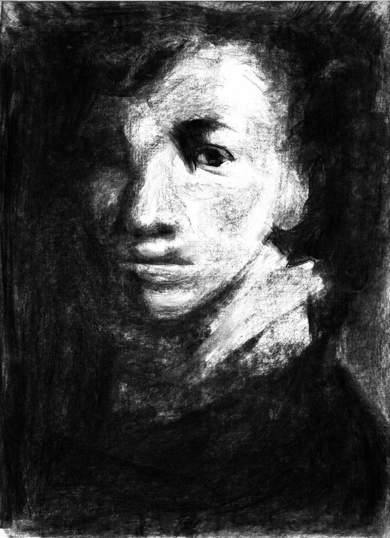 portrait of man 2 by jeffels on deviantart