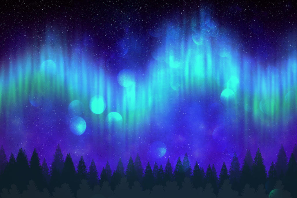 Northern lights by Lady-Arthemisa