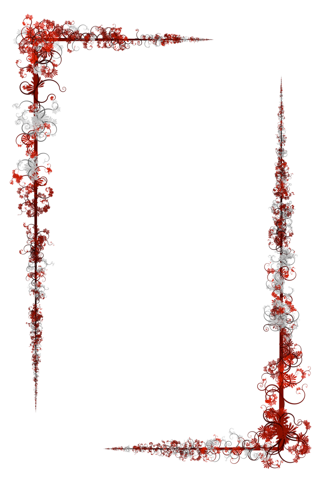 floral border by lunarbunnies on deviantart