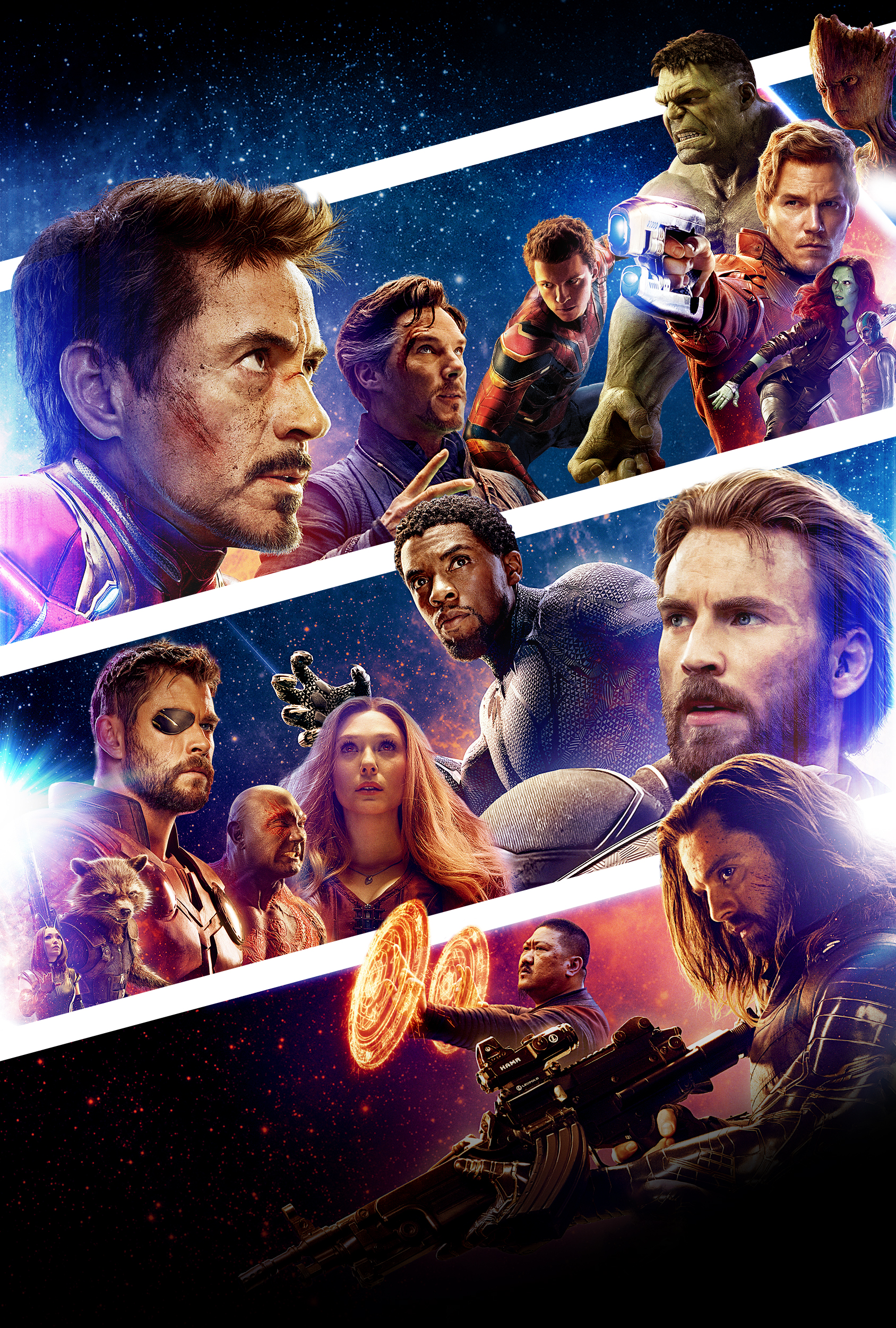 Infinity War Exclusive Poster Textless By Omrkse10 On Deviantart