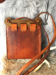 Leather Hedeby bag by TheGuildedPlane